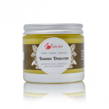 Baume Douceur  - Beurre de Coco & Calendula bio - 125 ml - Louise Emoi