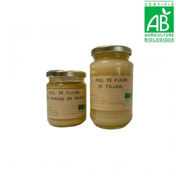 Miel de fleurs de Tilleul BIO et miel de fleurs du marais de Brière BIO