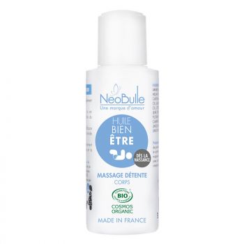 Huile Bien-Être, massage détente - 100 ml