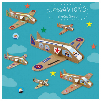 """Kit créatif """"Mes Avions à Réaction"""""""