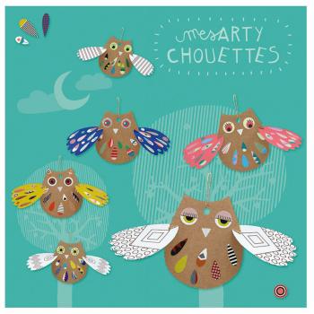 "Kit créatif ""Mes Arty Chouettes"""