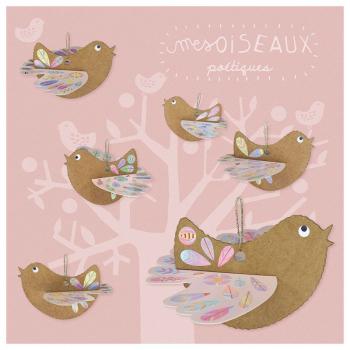 """Kit créatif """" Mes Oiseaux Poétiques"""""""