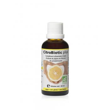 CitroBiotic Plus ® Liquide 50ml (Flacon en verre).