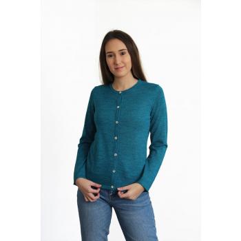 Gilet Rosario Bleu Turquoise