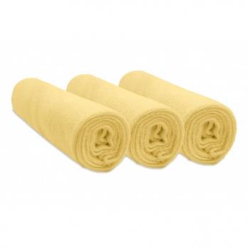 Lot de 3 housses pour matelas à langer en Éponge Coton 50x70 / 55x75 / 50x80