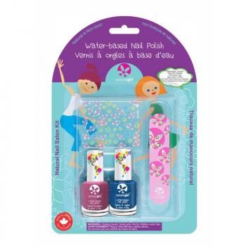 Kit de 2 vernis pour enfants + lime - SUNCOAT GIRL Petite sirène