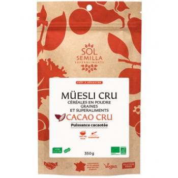 Muesli Cru Cacao Criollo BIO - 350g
