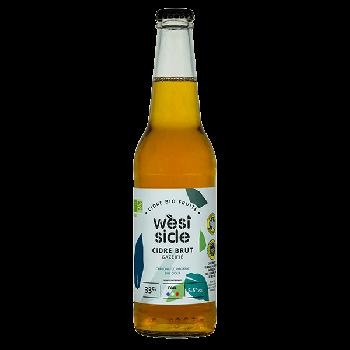 Cidre brut WEST SIDE 33 cl