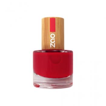 Vernis à ongles - Rouge Carmin - 650 - Zao
