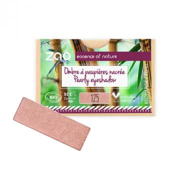 Recharge Ombre à paupières rectangulaire - Rose Sunshine Nacré - 125