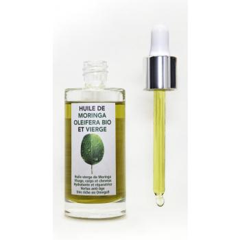 Huile de Moringa Bio et pure 50 ml