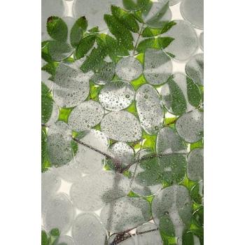 """""""Bulles vertes"""" papier peint vinyle 120x250 cm"""