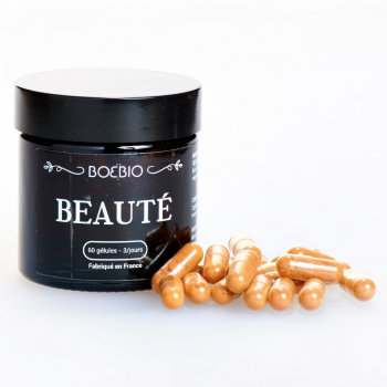 Beauté - BoeBio  - Peau Grasse - Urucum - Bardane Bio - Made in France - 60 gélules