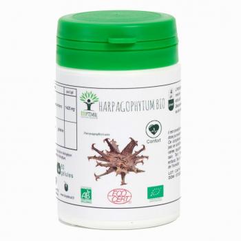 Harpagophytum Bio - Bioptimal - Articulation - Anti-inflammatoire  Certifié par Ecocert - 60 Gélules