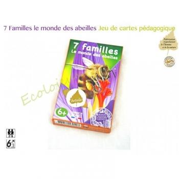 jeu de cartes 7 Familles Abeilles