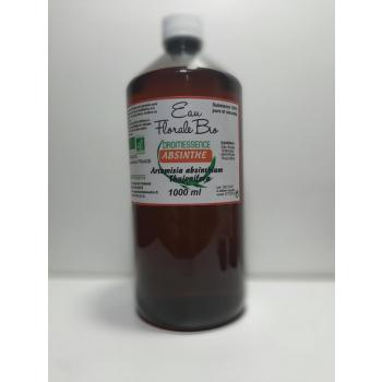 Hydrolat (ou eau florale)  d absinthe bio AB DROMESSENCE 1 Litre