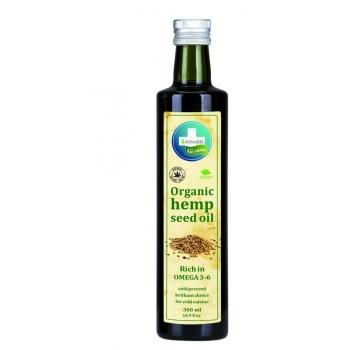 100% Bio Hemp Oil Huile de Graines de Chanvre Organique - 250ml