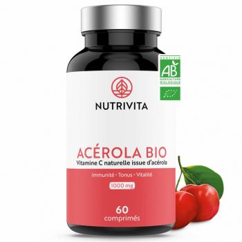 Acérola Bio 1000 mg - 60 comprimés