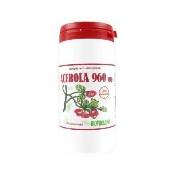 Vitamine C naturelle Acérola 960 mg (100 comprimés)