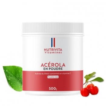 Acérola pur en poudre - 500g