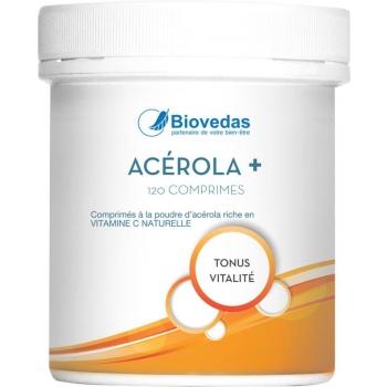 ACEROLA + - Biovedas - 120 comprimés