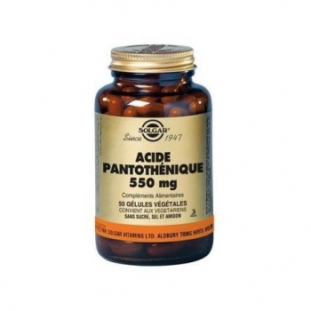 acide-pantothenique-550-mg-solgar
