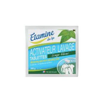 20 Tablettes ACTIVATEUR LINGE BLANC soit 400 gr.