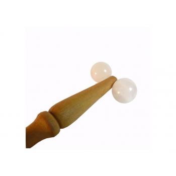 Roulette de Réflexologie en Quartz Rose Climsom