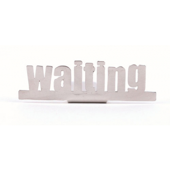 "Marque pages ""waiting!"""