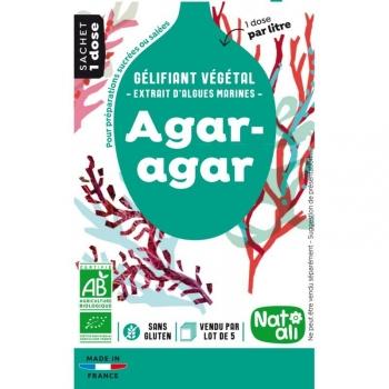 AGAR AGAR Bio 5x4 g