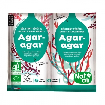 AGAR AGAR Bio 2*4 g