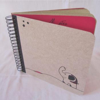 """Livre d'Or """"ma bonne Etoile"""" - Fuchsia"""