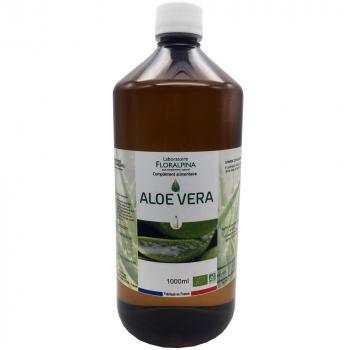 Jus d'aloe vera 1l bio (100%  de jus d'Aloe Vera)