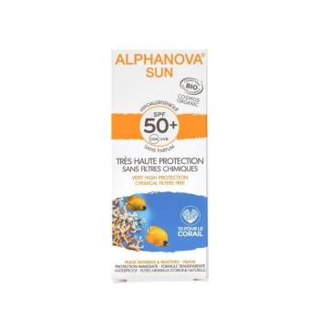 Crême solaire bio - SPF 50 - 50 g - Alphanova