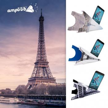 AMPLILIB l'enceinte écologique – Made in France- Pack Tour Eiffel (3 Amplilib)