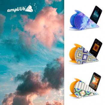 AMPLILIB l'enceinte écologique – Made in France- Pack Evasion (3 Amplilib)
