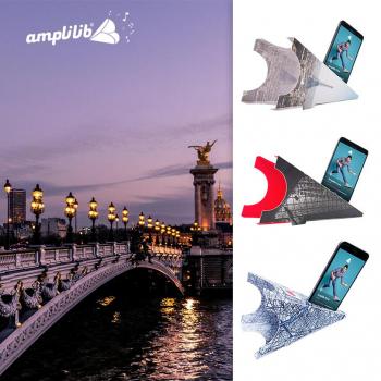 AMPLILIB l'enceinte écologique – Made in France- Pack Monuments (3 Amplilib)