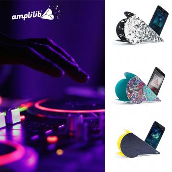 AMPLILIB l'enceinte écologique–Made in France- Pack Musique (3 Amplilib)
