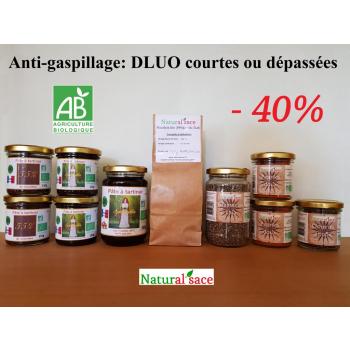 Grand pack anti-gaspillage (DLUO courtes ou dépassées)  -40%
