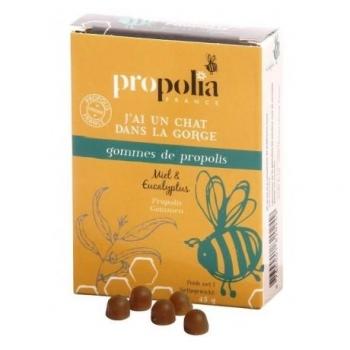 Gommes de propolis - Miel et Eucalyptus
