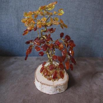 Arbre en ambre naturel