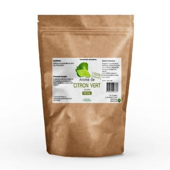 Arôme de citron vert 100% naturel 100g