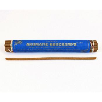 "Encens traditionnel Tibetain ""Aromatic Nag Champa"" 19 bâtonnets"