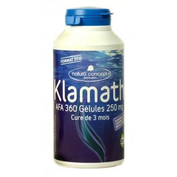 Klamath afa certifié otco - 360 gélules