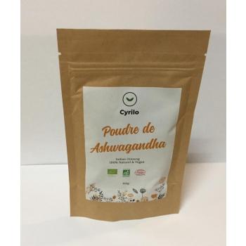 Ashwagandha poudre Bio