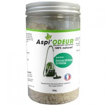 Aspi'odeur eucalyptus citron 200g - désodorisant pour aspirateur