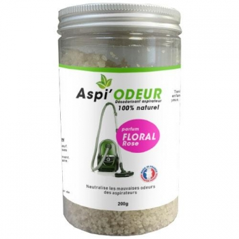 Aspi'odeur floral rose 200g - désodorisant pour aspirateur