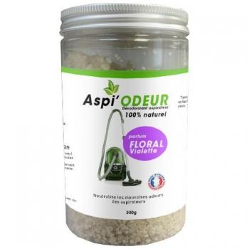 Aspi'odeur floral violette 200g - désodorisant pour aspirateur