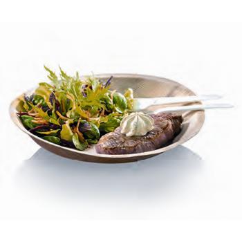 Assiette plate Palmier - 24 cm -