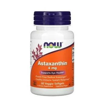 Astaxanthine, 4 mg, 60 capsules végétariennes à enveloppe molle